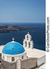 Firostefani church on Santorini