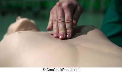 First Aid Cardiopulmonary Resuscitation CPR Technique