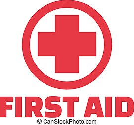 First aid cross