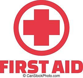 First aid cross