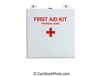 First Aid Kit - Isolated first aid kit