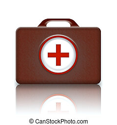 First Aid Kit Retro