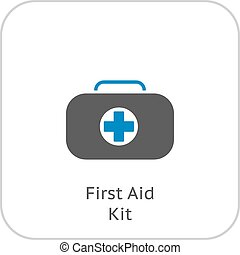 First Aid Kit Symbol and Medical