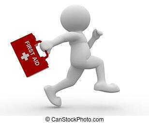 First-aid man