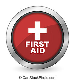 first aid red icon