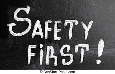 first!, bezpieczeństwo