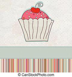 First Birthday card. EPS 8