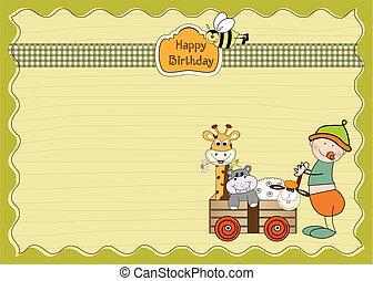first birthday card