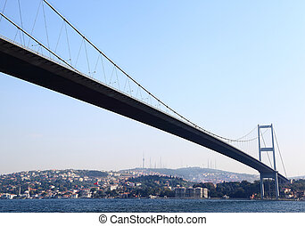 first bosporus bridge, istanbul