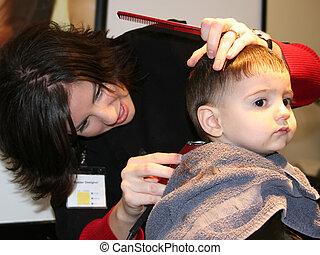 First Hair Cut 02