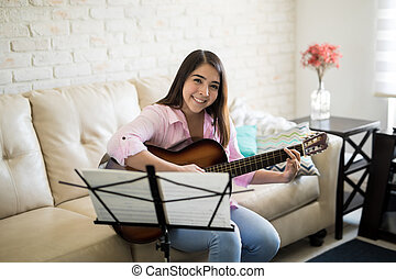 First music lessons
