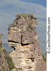 First Sister Rock Formation - The first of the Three Sisters...