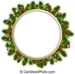 firtree, elágazik, karácsony, zenemű