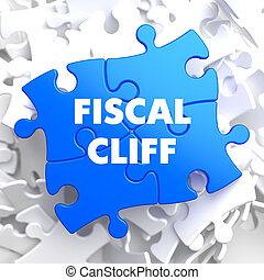Fiscal Cliff on Blue Puzzle. - Fiscal Cliff on Blue Puzzle...