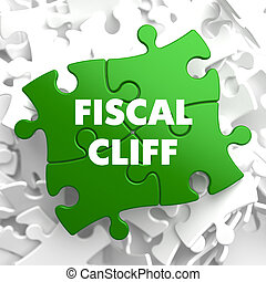 Fiscal Cliff on Green Puzzle. - Fiscal Cliff on Green Puzzle...