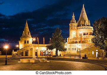 fischer, bastion, budapest, ungarn