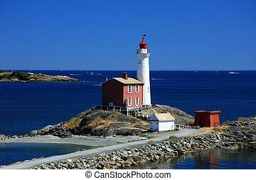 Fisgard Lighthouse, Victoria, BC, Canada - Fisgard ...
