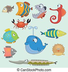 fish, állhatatos