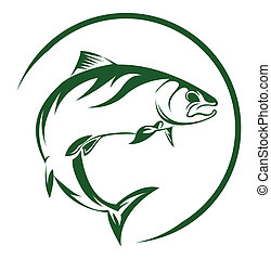 fish, łosoś