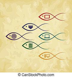 fish, コンピュータ