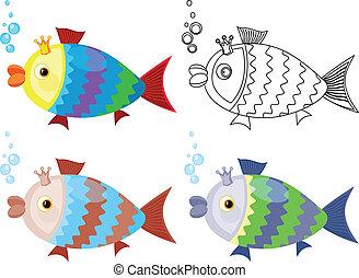 fish, セット