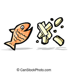 fish, チップ, 漫画