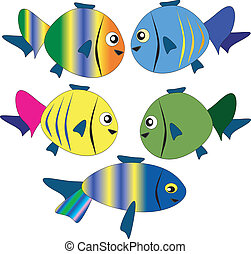 fish, トロピカル