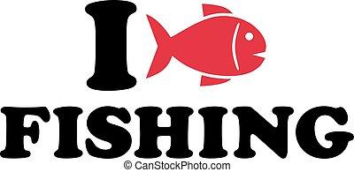 fish, 愛, 釣り