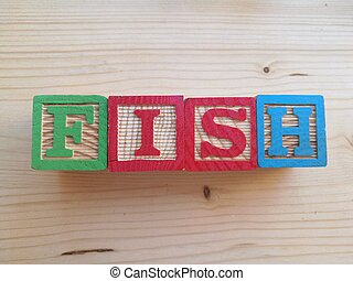 fish, 書かれた