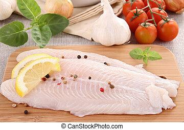 fish, 未加工