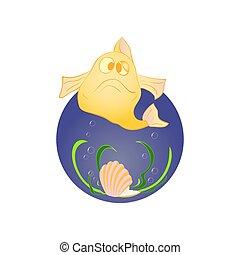 fish, 殻, 真珠