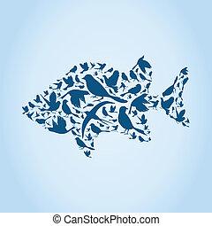 Fish a bird