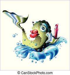 fish, ajakrúzs