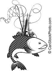 Fish and fishing equipment - Fish and fishing tackle...