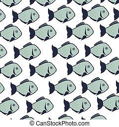 fish background decoration