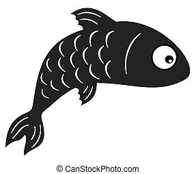 fish black shadow