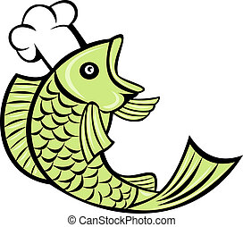 fish cook chef baker