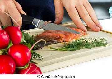 fish, cottura