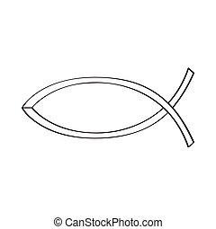 fish, cristiano, simbolo