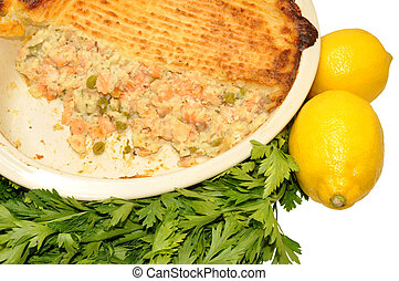 fish, cuit, tarte