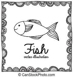 fish, dessin