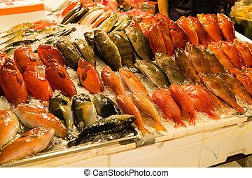 fish, fishmarket, dobrany