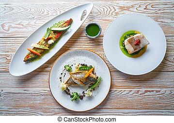 Fish food recipes Turbot Seabass and Hake - Fish food ...