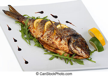 fish, frit