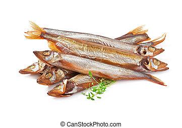 fish, fumé