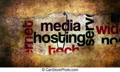 Fish hook against media bait concept
