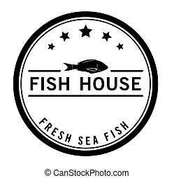 Fish House Sea food badge
