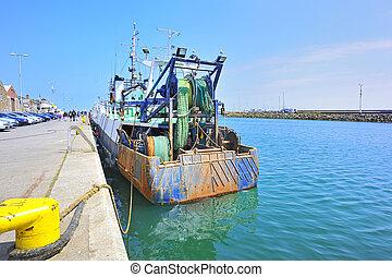 fish, howth, csónakázik, írország
