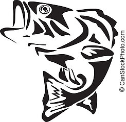 Fish icon - Icon of a jumping fish