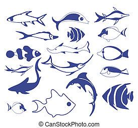 Fish Icons